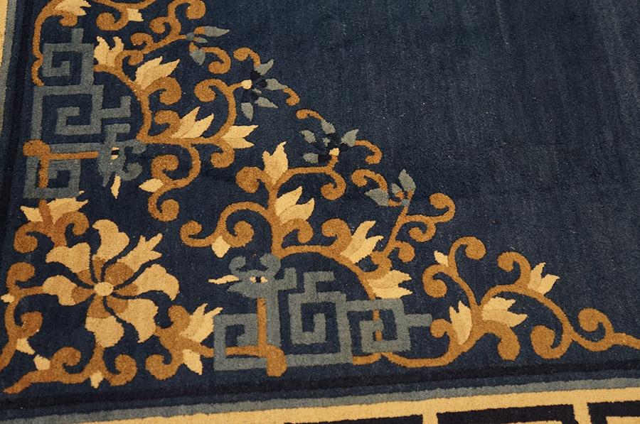 Antique Chinese - Chinese - 23086   Chinese 9'2 x 11'4   Blue, Origin China, Circa 1920