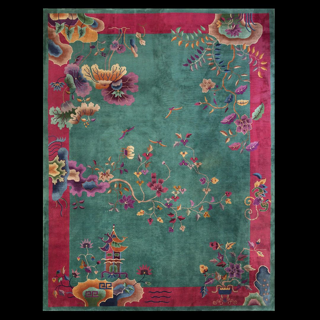 174a57b6b2be Antique Chinese - Art Deco Rug - 22999