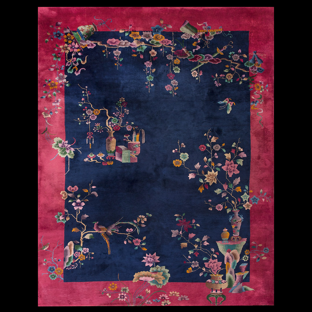 893c0ccf4285 Antique Chinese - Art Deco Rug - 22203