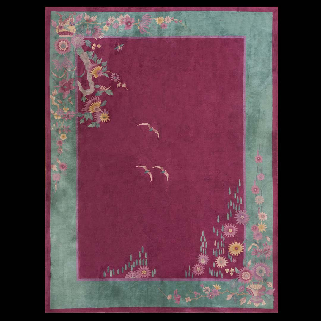 4da37473e524 Antique Chinese - Art Deco Rug - 23625