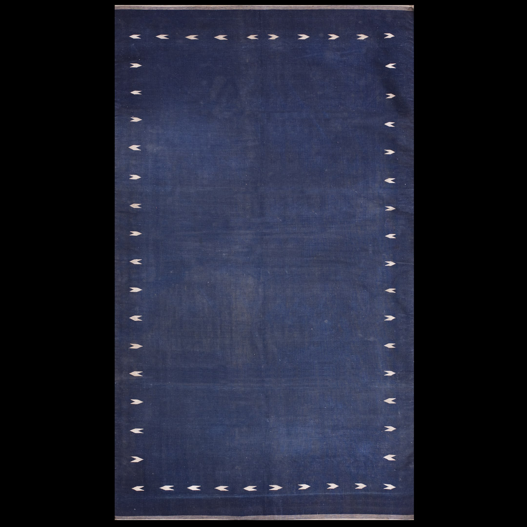 Antique Dhurrie Rug 21145 Indian 3 10 X 6 8
