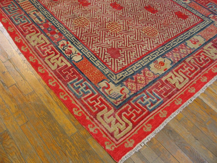 Antique Chinese - Chinese - 21301 | Chinese 5'6 x 8'6 | Multi, Origin China, Circa 1800