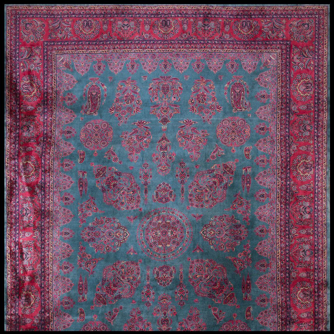 Antique Kashan - Manchester Rug - 40-2897
