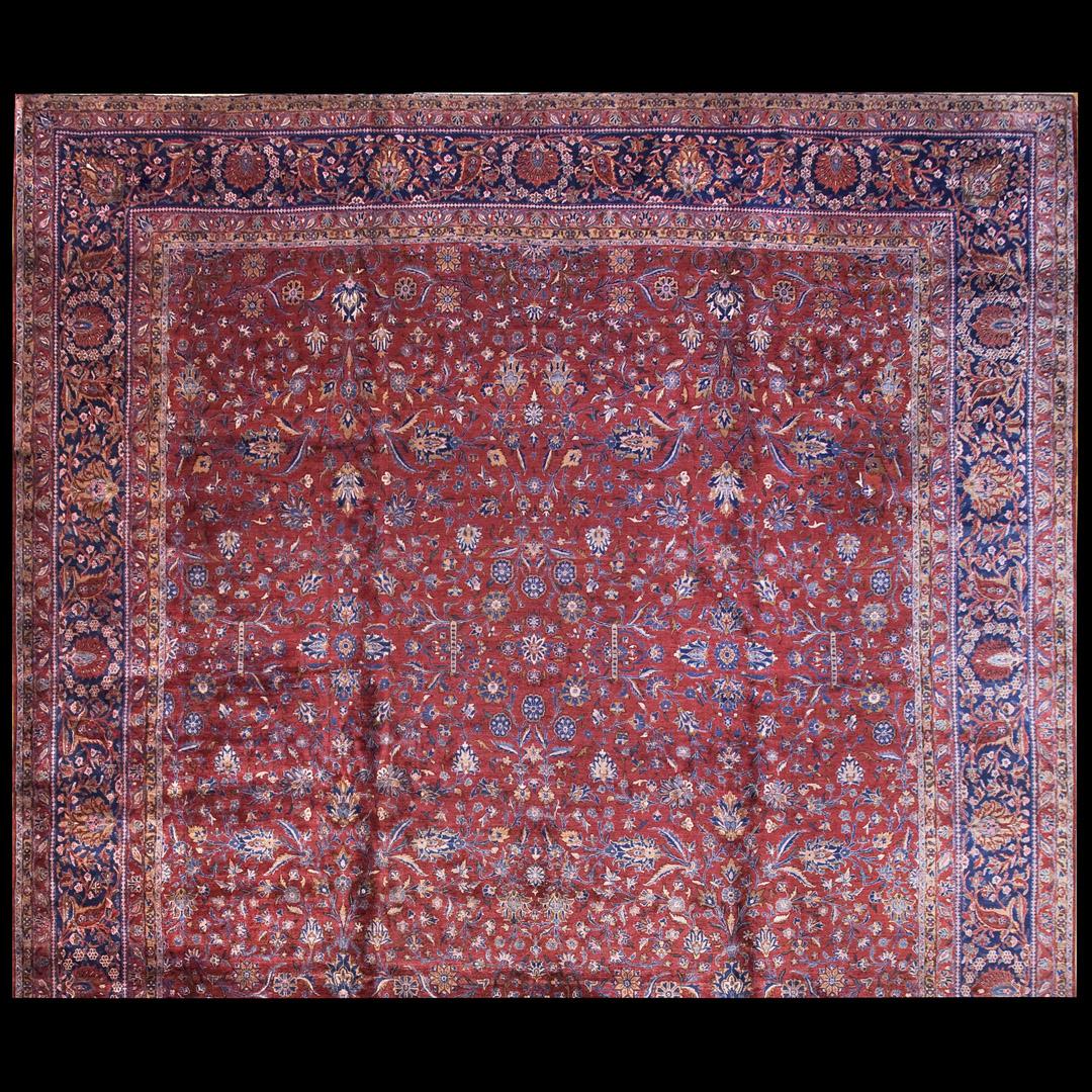 Antique Kashan - Manchester Rug - 40-2198